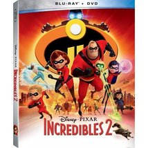 Disney Pixar Incredibles 2 [Blu-ray + DVD]
