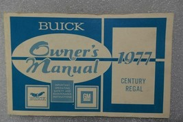 Buick Century Regal 1977 Owners Manual 14668 - $19.75