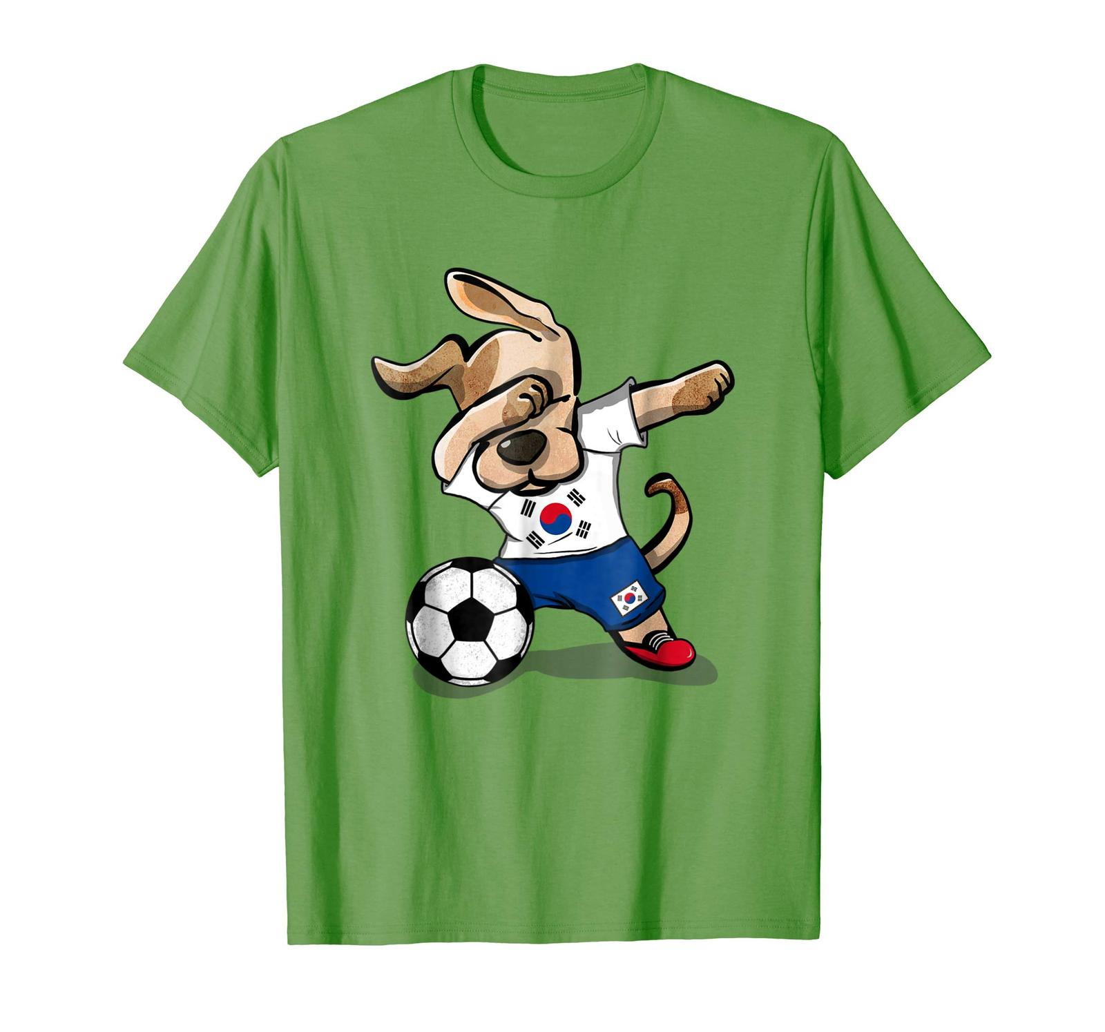 c28fb012309 New Shirts - Dog Dabbing Soccer South Korea Jersey Shirt Korean Football Men