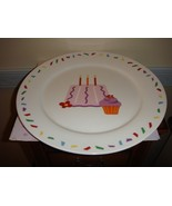 Large Cake Plate For A Birthday By Tag - $18.99