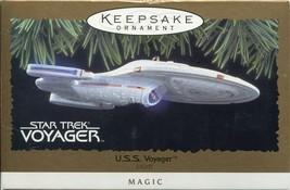 1996 Star Trek U.S.S. Voyager Hallmark Keepsake Lighted Ornament  - $9.89