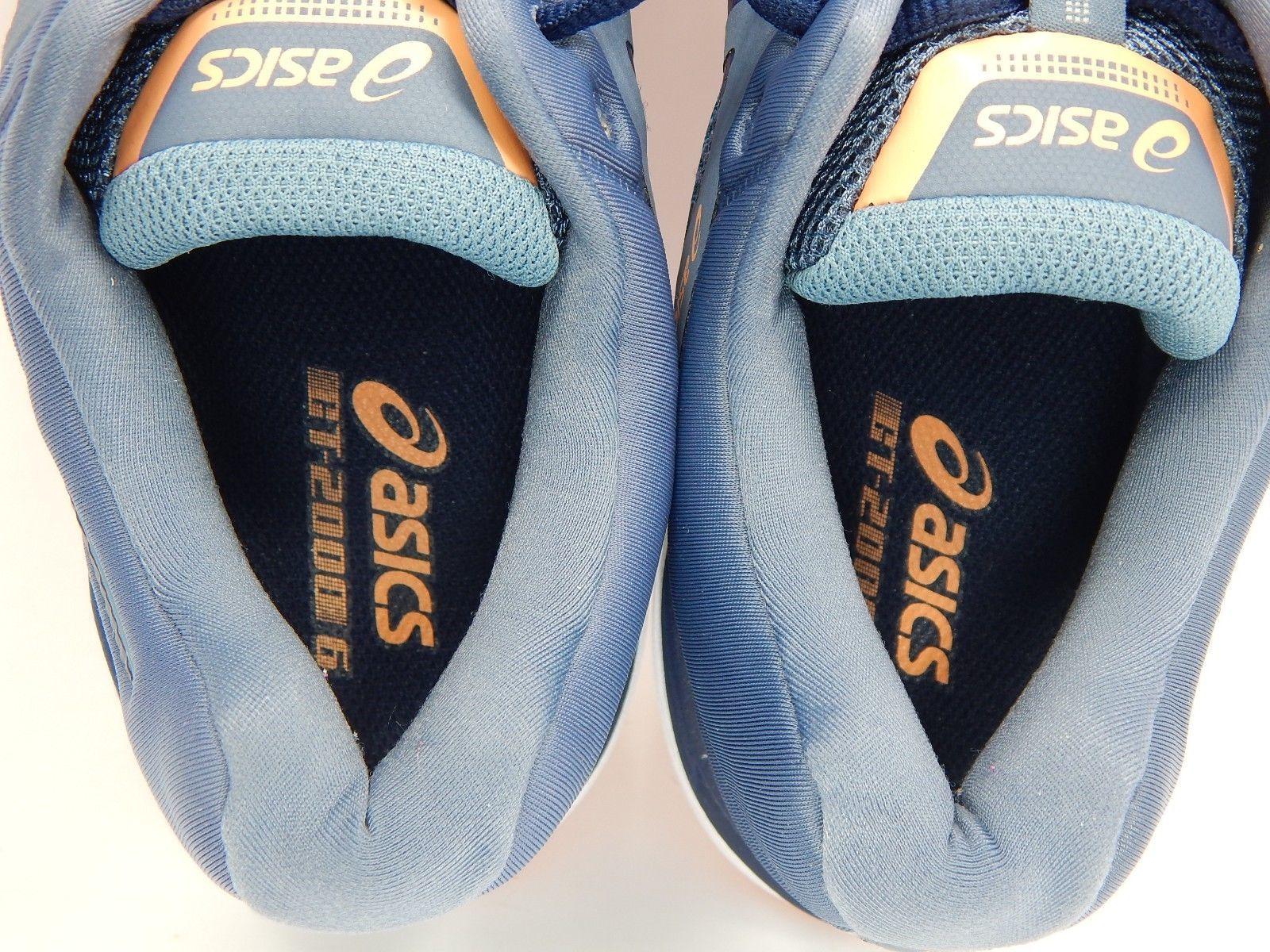 Asics GT 2000 v 6 Size 10 M (B) EU 42 Women's Running Shoes Pink Blue T855N