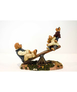 Boyds Bears  Dad With Teeter Totter and Boing  Worlds Best Dad  Style 22... - $30.98