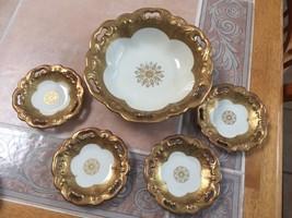 Koenigszelt Vintage Bowl And Sconce Plates - $10.82