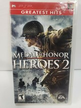 Medal of Honor: Heroes 2 (Sony PSP, 2007)- Complete - $12.19