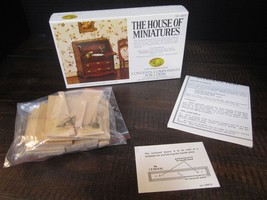 The House of Miniatures Chippendale Desk #40017 X-Acto Opened 1977 - $12.88