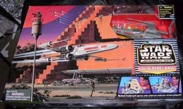 Yavin Rebel Base Actin Fleet Playset New Sealed  - Galoob - $177.65