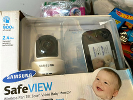 Samsung SEB-1019RW BabyView Safeview Wireless Video Monitoring Baby Came... - $77.72