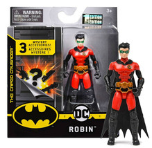 """The Caped Crusader Red Robin 4"""" Action Figure with 3 Mystery Accessories MIB - $19.88"""