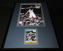 Kent Bazemore Signed Framed 11x17 Photo Display Hawks Warriors - £49.73 GBP