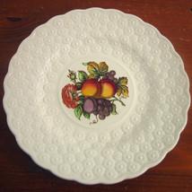 Copeland Spode 9¼ Luncheon Plate Ring Fruit Bouquet England #12 - $28.26