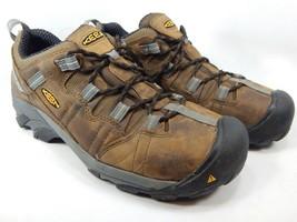 Keen Detroit ESD Low Sz 9.5 2E WIDE EU 42.5 Men's Steel Toe Work Shoes 1007012EE