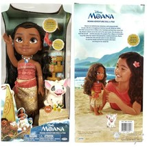 Disney Moanna Adventure Doll And Pua Jakks Pacific - New In Box Age 3+ - $59.37
