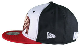 Dissizit California Skating Bear Black Red New Era 59FIFTY Fitted Baseball Hat image 3