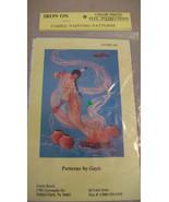 PATTERNS BY GAYLE BENET #109 IRON ON PATTERNS FABRIC PAINTING SMOKE SPIRIT - $4.46