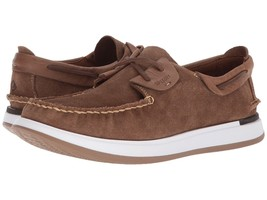 Men's Sperry Caspian Suede Boat Shoes, STS17195 Multiple Sizes Tan - $109.95