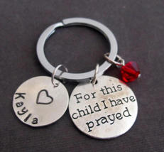 For this child I have Prayed,Rainbow Babies,New Baby, New Mom, New Dad, - $12.60