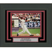 FRAMED Autographed/Signed PAUL GOLDSCHMIDT Diamondbacks 8x10 Photo JSA C... - $169.99