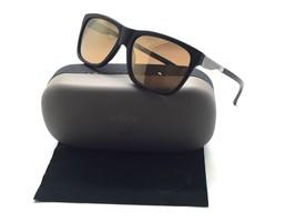 HARLEY DAVIDSON Matte Black Gunmetal Sunglasses / Gold Mirror Lenses HD2... - $29.07