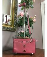 Coach Bag Colorblock Leather Messenger Pop up Pouch Crossbody Pink 64798 B5 - $113.84
