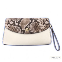 Coach Exotic Flap Clutch - $159.00
