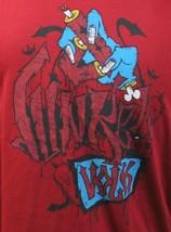 Dunkelvolk Mens Chili Red Zoombi Zombi Peruvian Artists T-Shirt NWT image 2