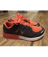 NEW BALANCE Womens Salmon Gray Workout Running Shoes Sz 5.5 - $17.10