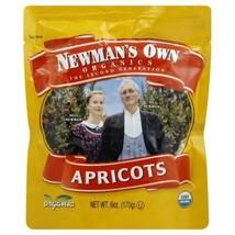 (6 Pack) Newman's Own Organics Dried Apricots Fruit 6 Oz New Fresh - $41.57