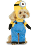 Minion Stuart Pet Costume Step In Shirt Sz XS NEW - $13.99