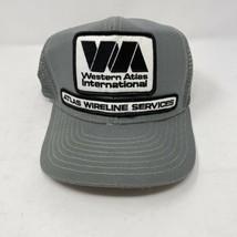 Vintage Atlas Wireline Services SnapBack Hat  - $9.89