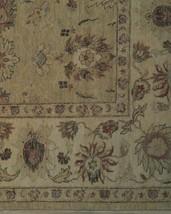 Honey Gold Wool Carpet 9' x 12' New Original Ziglar Oushak Hand-Knotted Rug image 2