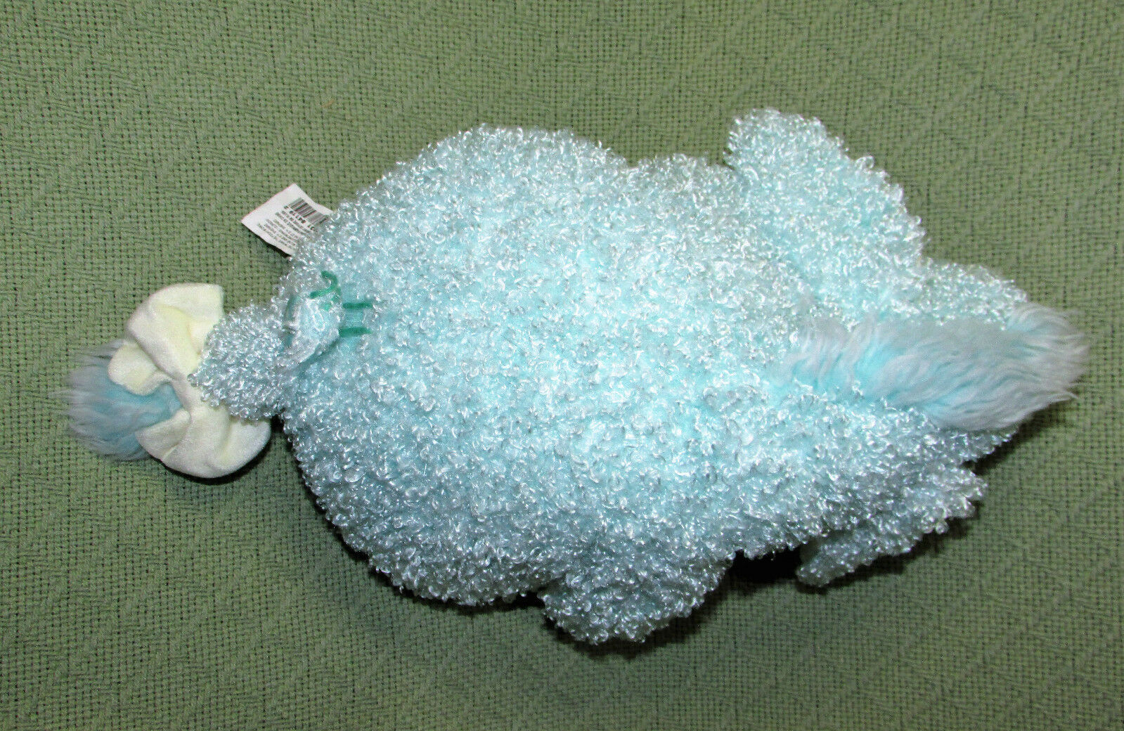 "12"" EEYORE GUMDROP MINT Plush DISNEY STORE Stuffed Animal Pooh Disney Curly Toy"