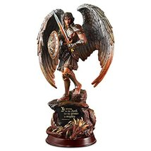 """St Michael Strength in the Lord 9.5"""" Sculpture by The Bradford Exchange - $75.49"""