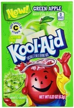 Green Apple Kool Aid Powdered Drink Mix Pack of 48