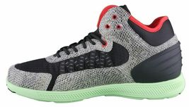 SUPRA Mens Snake Print Black Pale Green Owen Mid Sneakers Cross Trainer Shoes NW image 4