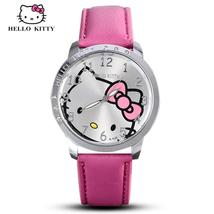 Hello Kitty Watch Women Kid Quartz WristWatch Cartoon Leather Cute Watch... - $8.00
