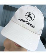 John Deere Tractor Farming White Snapback Baseball Cap Hat - $15.59