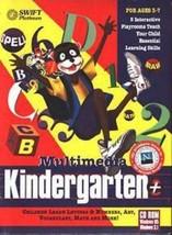 Multimedia Kindergarten+ (Ages 3-7) (PC-CD, 1997) for Windows - NEW CD i... - $4.98