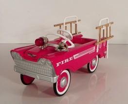 Artist Signed Hallmark Kiddie Car Classics 1962 Murray SUPER DELUXE FIRE... - $59.35