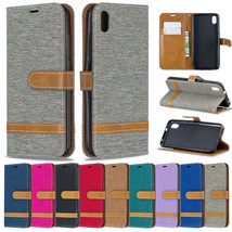 Leather Flip Wallet Case Card Shockproof Cover For Xiaomi Redmi Note 7 7... - $64.56