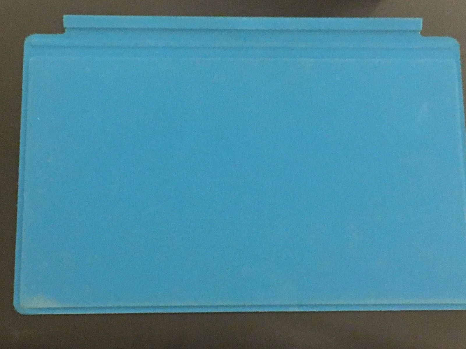 Microsoft Surface Touch Cover Keyboard | Cyan Blue | Lightly Used, No Defects!