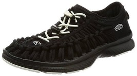 Keen Uneek O2 Women's Sport Sandals Size US 7 M (B) EU 37.5 Black / White