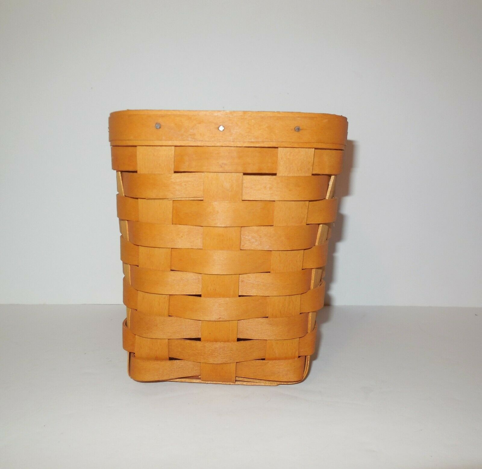 "Longaberger 6"" Spoon Basket 1999 image 4"