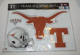 University Of Texas Longhorns Team Magnet Set New In Package - $23.38