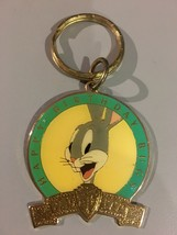 Key Fob Warner Bros Bugs Bunny Happy Birthday 1940-1990 Enameled Metal K... - $9.99