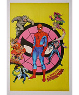 1975 Amazing Spider-man 22 1/2 by 15.5 Marvel Comics poster:Green Goblin... - $69.29