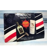Vintage Dana CANOE Mariner's Trio Safety Razor, After Shave Gel & Cologn... - $19.79