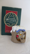 Christmas Hallmark Keepsake 1990 Club Hollow Ornament #2 - $5.89