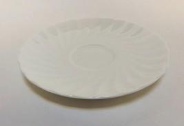 "Wedgwood Candlelight White Swirl Saucer 5 1/2"" - $10.87"