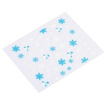 Snowflake Design Nail Sticker Manicure Decor Tools(SN-103) image 1